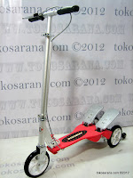1 DoesBike 381 Dual Pedal Scooter Jumbo Size