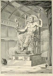 unknown Facts About The Statue of Zeus at Olympia