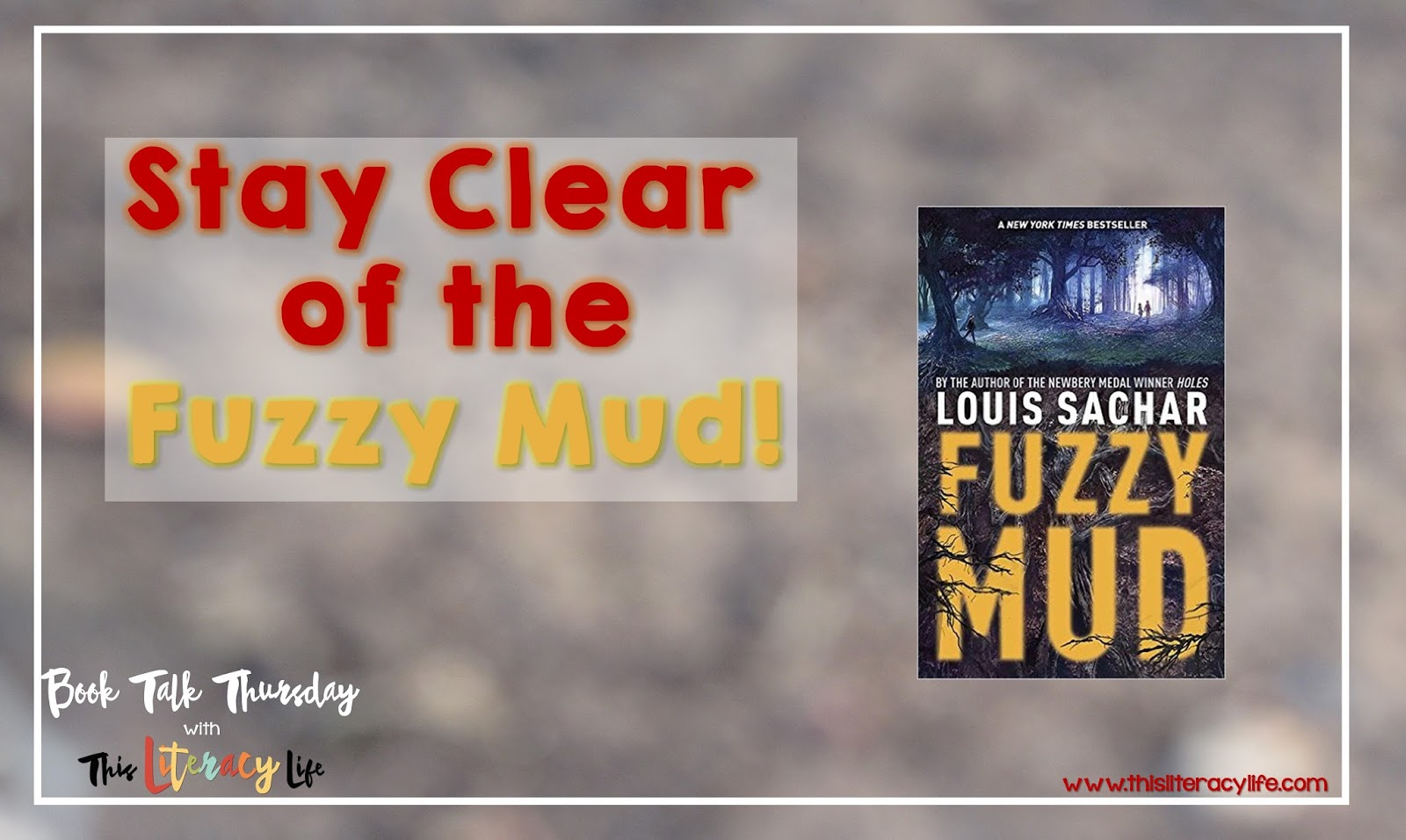What happens when science goes wrong, and two young children find out the wrong way? Fuzzy Mud by Louis Sachar will have you and your students wondering what is going on in this modern day mystery.