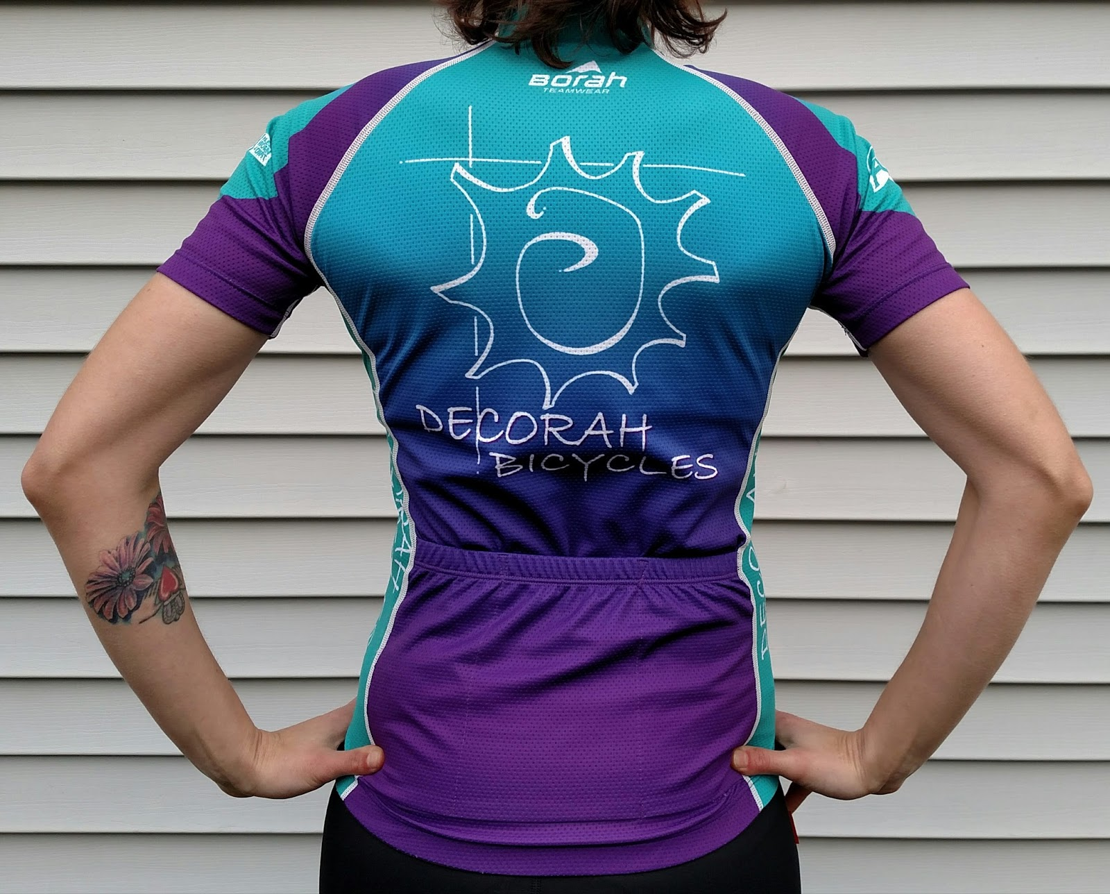 Decorah Bicycles is very excited to be working with Borah on these jerseys  for several factors. One 54d642714