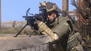 Arma3へM249追加のHLC MOD - SAW パックアドオン