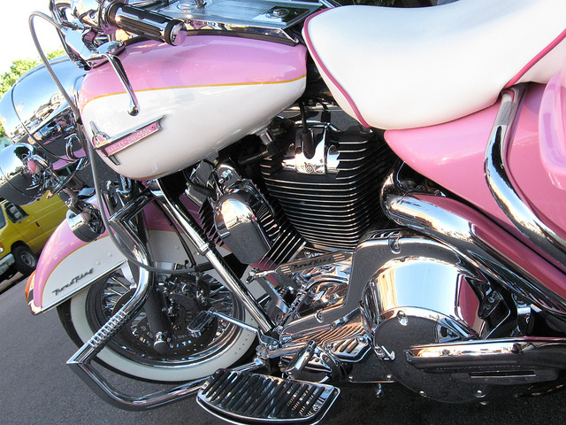 "Pink Harley Davidson: ""I'd Ride One"" On Pinterest"