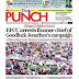NAIJA NEWSPAPERS: TODAY'S THE PUNCH NEWSPAPER HEADLINES [22 DECEMBER, 2017].