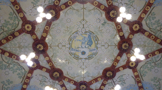 Detall del sostre