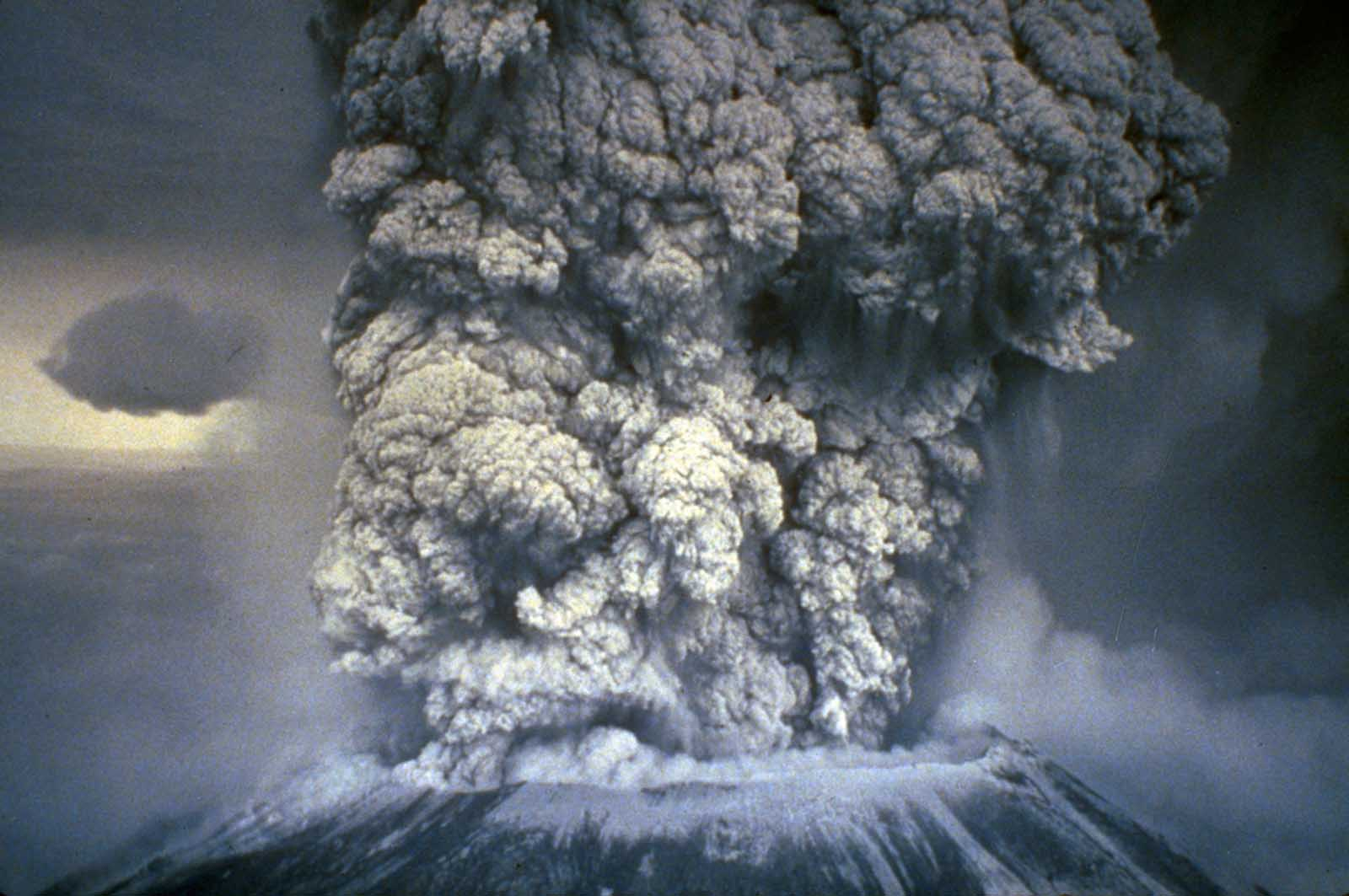 Mt. St. Helens, May 18, 1980.