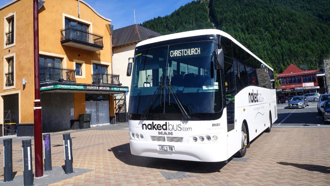naked bus, intercity, NZbus
