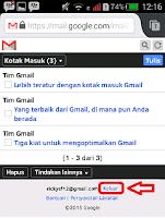 Bikin email lewat hp