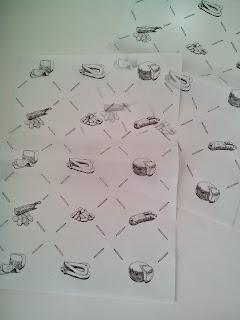 papel antigrasa bandejas-papelon-papel plato