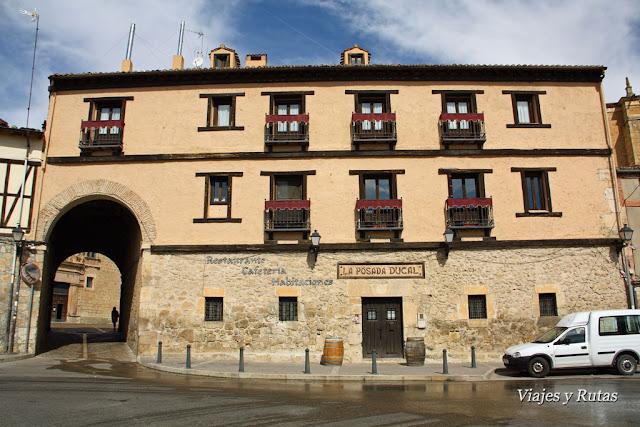 Posada ducal, Calle cava, Peñaranda de Duero