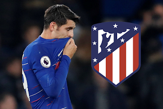 Chelsea Alvaro Morata To Atletico Madrid