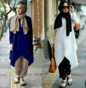 Inilah Model Baju Atasan Wanita Remaja Muslimah Terbaru Dan Apik