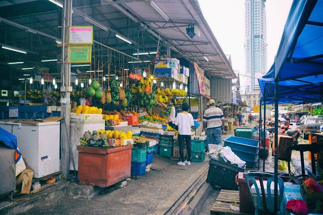 チョウキット市場