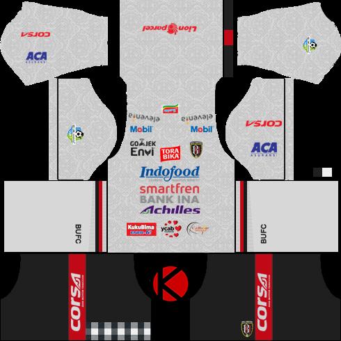 bcaf88b5065 Bali United 2018 Kit - Dream League Soccer Kits - Kuchalana