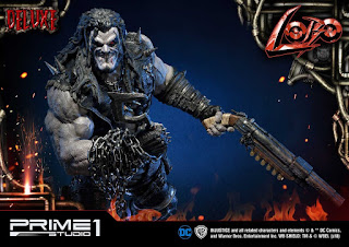 Lobo y sus Space Dolphins de Injustice: Gods Among Us - Prime 1 Studio