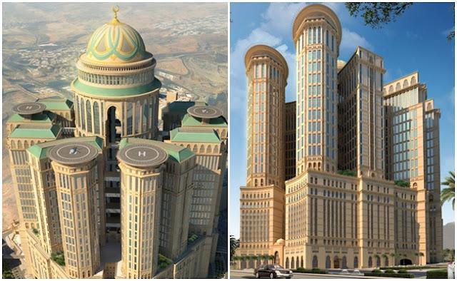 Hotel Abraj Kudai, Hotel Terbesar Di Dunia