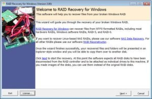 Runtime RAID Recovery for Windows 4.00 Full Version