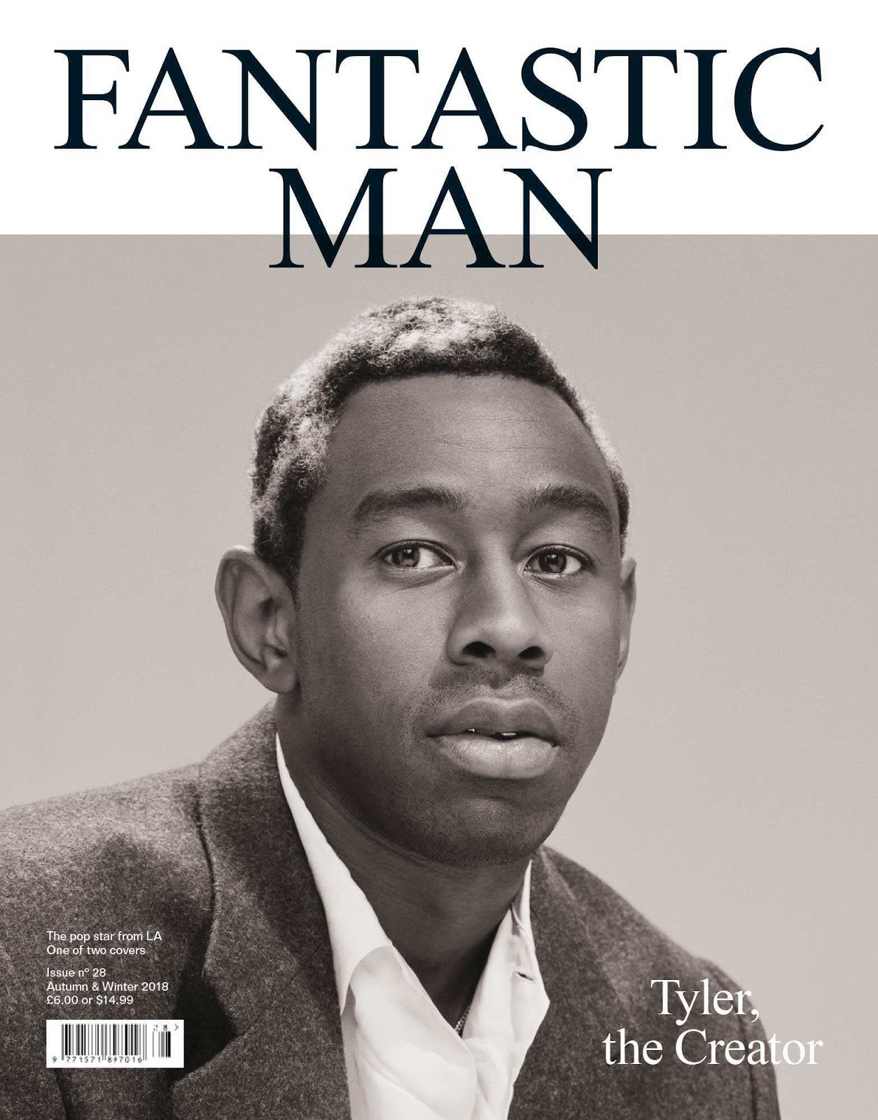 Tyler the Creator para Fantastic Man Magazine por Mark Peckmezian