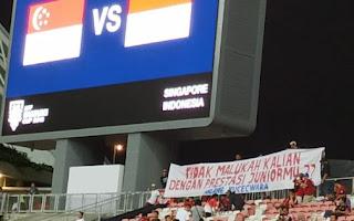 Indonesia Kalah 0-1 dari Singapura - Piala AFF 2018