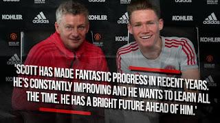 Man United star McTominay ya ƙulla kwangila mail tsawo a Old Trafford