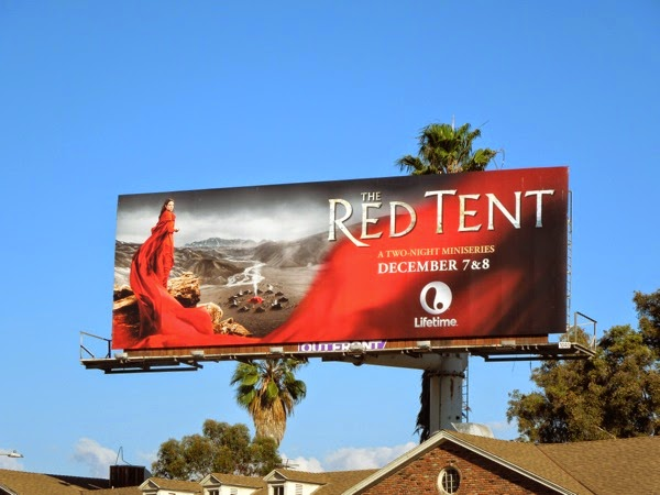 Red Tent tv mini series billboard