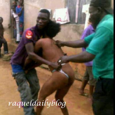 Women Stripped Naked In Public 85