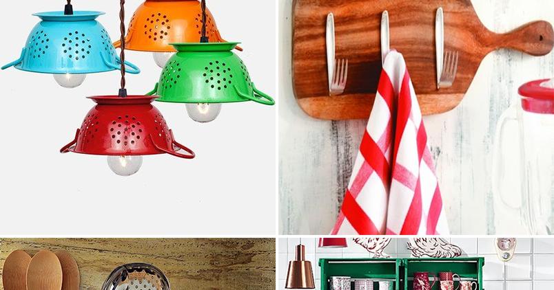 Como organizar a cozinha de maneira criativa e barata? - Amando ...