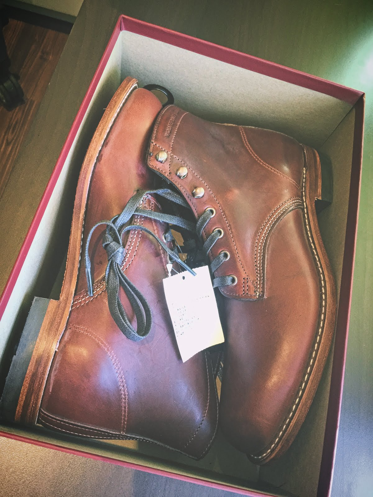 a8d41594ff9 Wolverine 1000 Mile Boots | CULOLOM黑白共