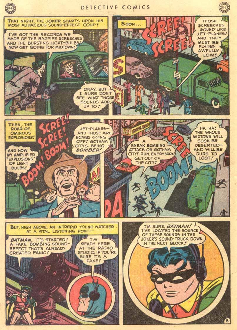 Read online Detective Comics (1937) comic -  Issue #149 - 10