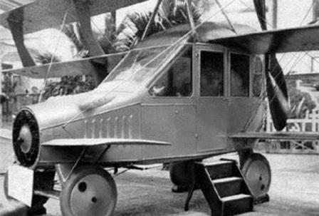 Curtiss Autoplane desain mobil terbang yang pertama kali di buat