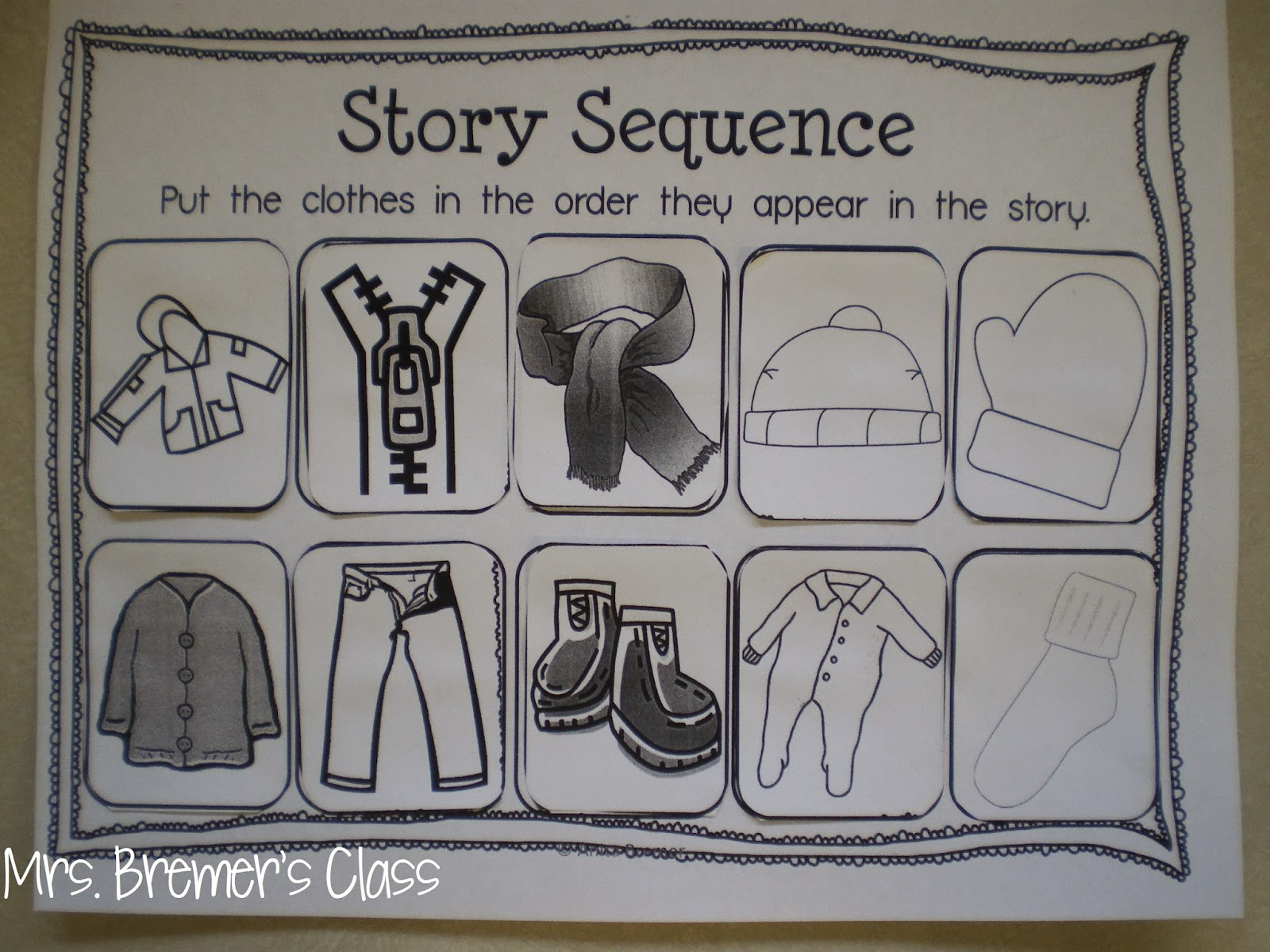 Mrs Bremer S Class Snowy Books The Snowy Day Free Pack