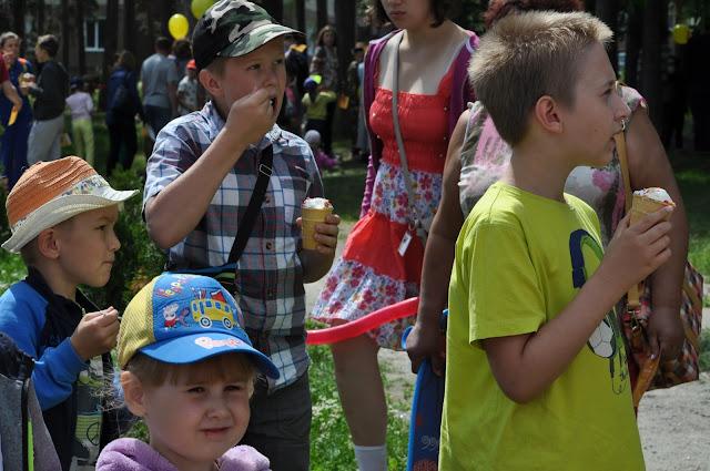 Праздник мороженого в Челябинске