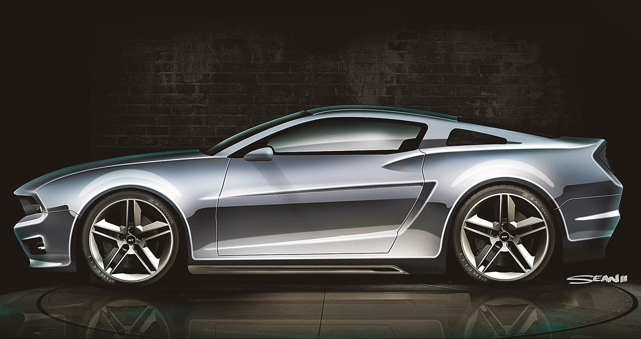 Image Gallery 2030 Mustang Concept