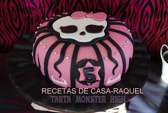 Recetas de casa raquel tarta monster high paso a paso - Casa de monster high ...