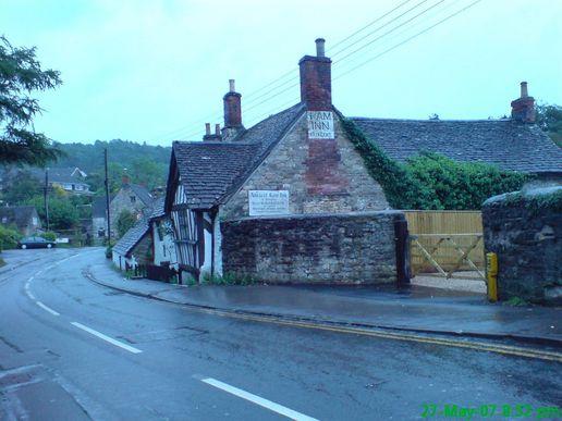 Ancient creepy ram Inn in England