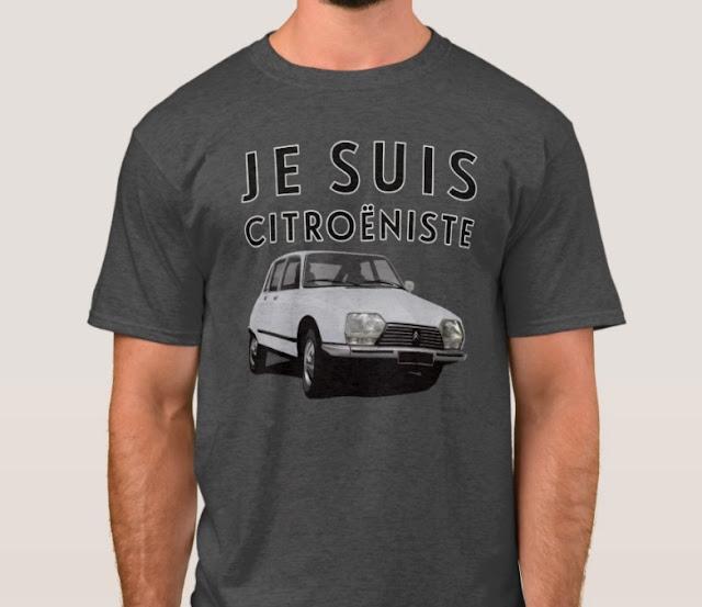 Citroën GS t-paita olen sitikkakuski