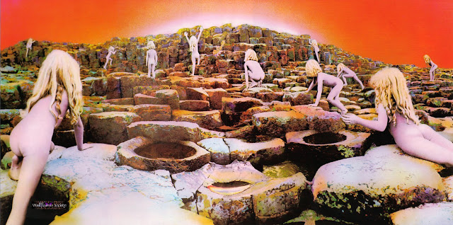 A capa do álbum Houses of the Holy, do Led Zeppelin