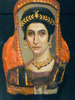 fayum portrait funerary art