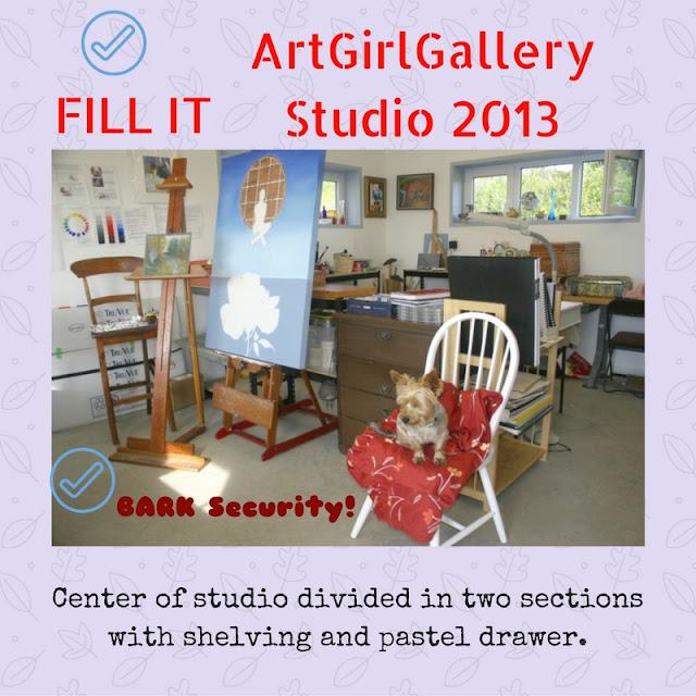 ArtGirlGallery art studio