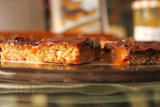 Diwali Chocolate and Caramel Flapjacks