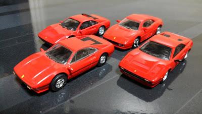 kyosho ferrari  new old early late design update models