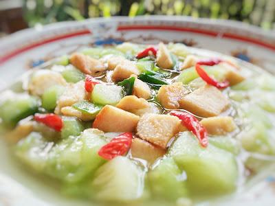 Resep Sayur Oyong Daging Ayam