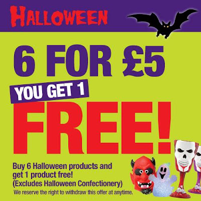 Halloween Challenge From Poundland: How Much? £1.00