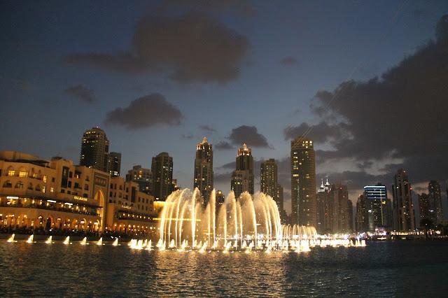 Dubai suihkulähde