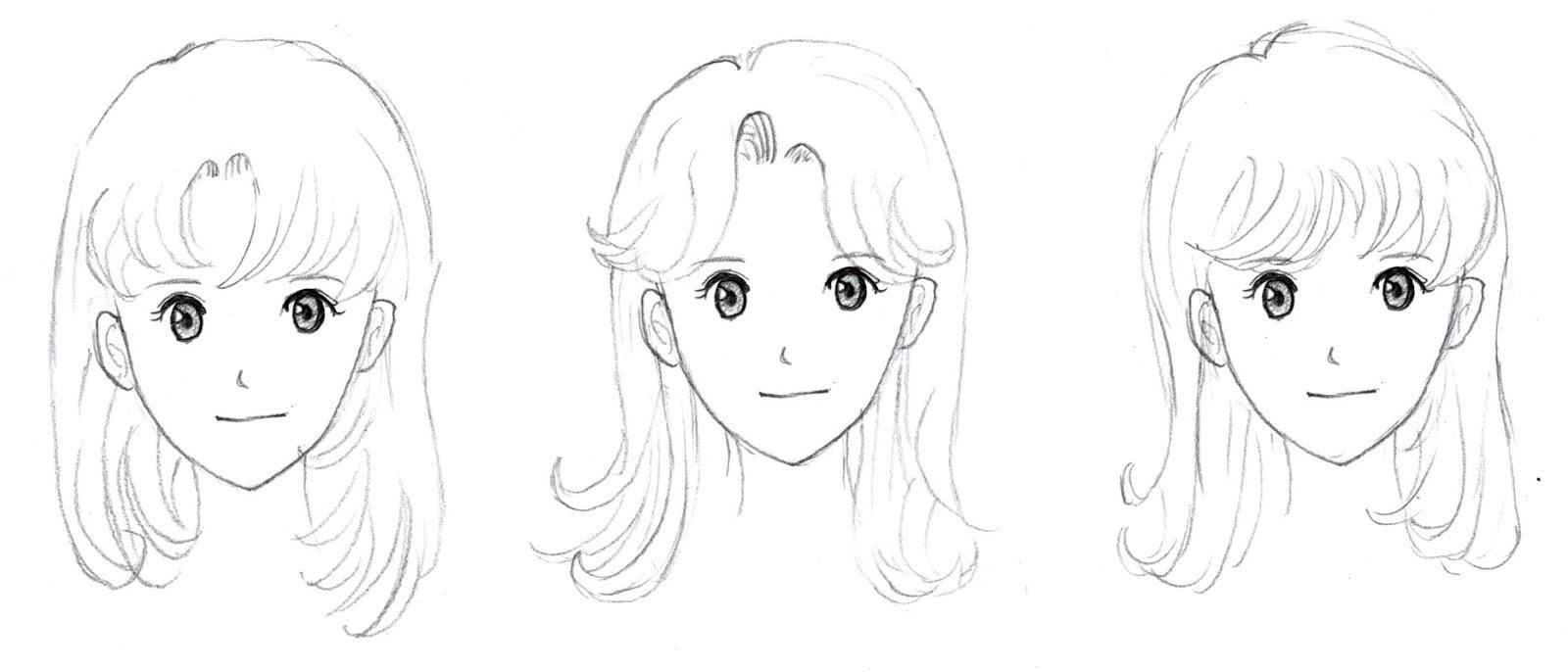 Johnnybros how to draw manga how to draw manga hair part 1 the basics