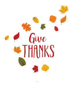 LostBumblebee ©2016 Give Thanks, Thanksgiving Printable, Home decor, Personal use Only, www.lostbumblebee.net