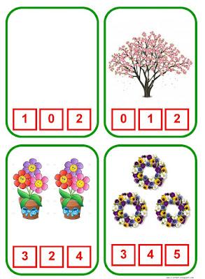 Peindre-le-numero-qui-correspond-au-nombre-correct-d-objets-coloriage-enfant-activite