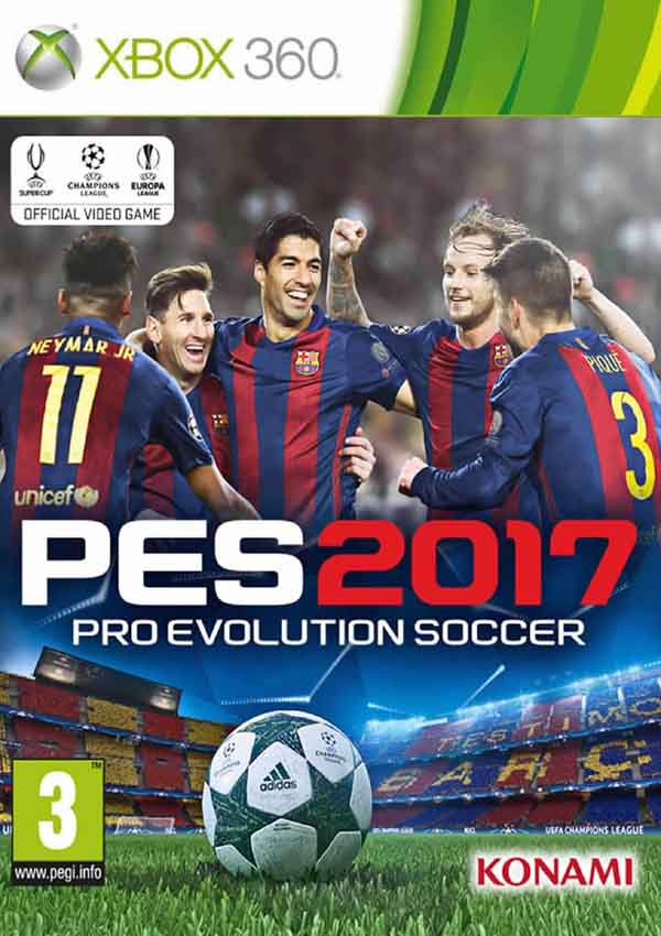 Pro Evolution Soccer (PES) 2017 Download Cover Free Game