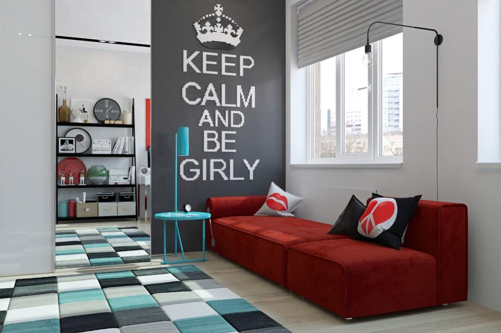 red-plush-sofa