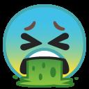 Vomiting emoji