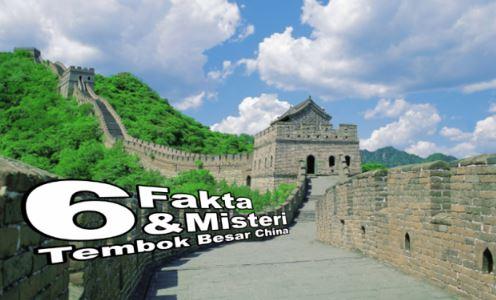 Fakta Misteri Tentang Tembok Besar China Didedahkan